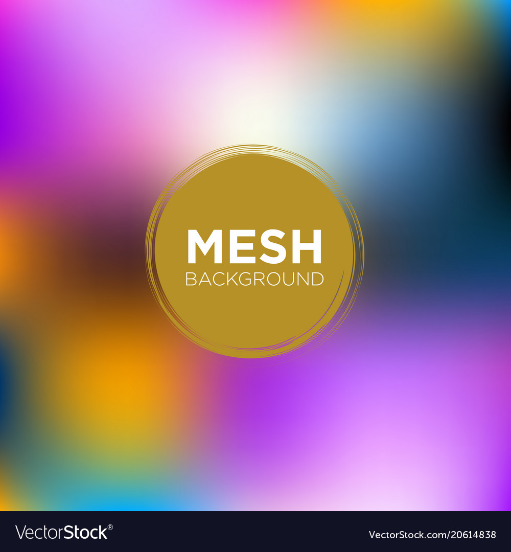 mesh background in carnival color palette vector image