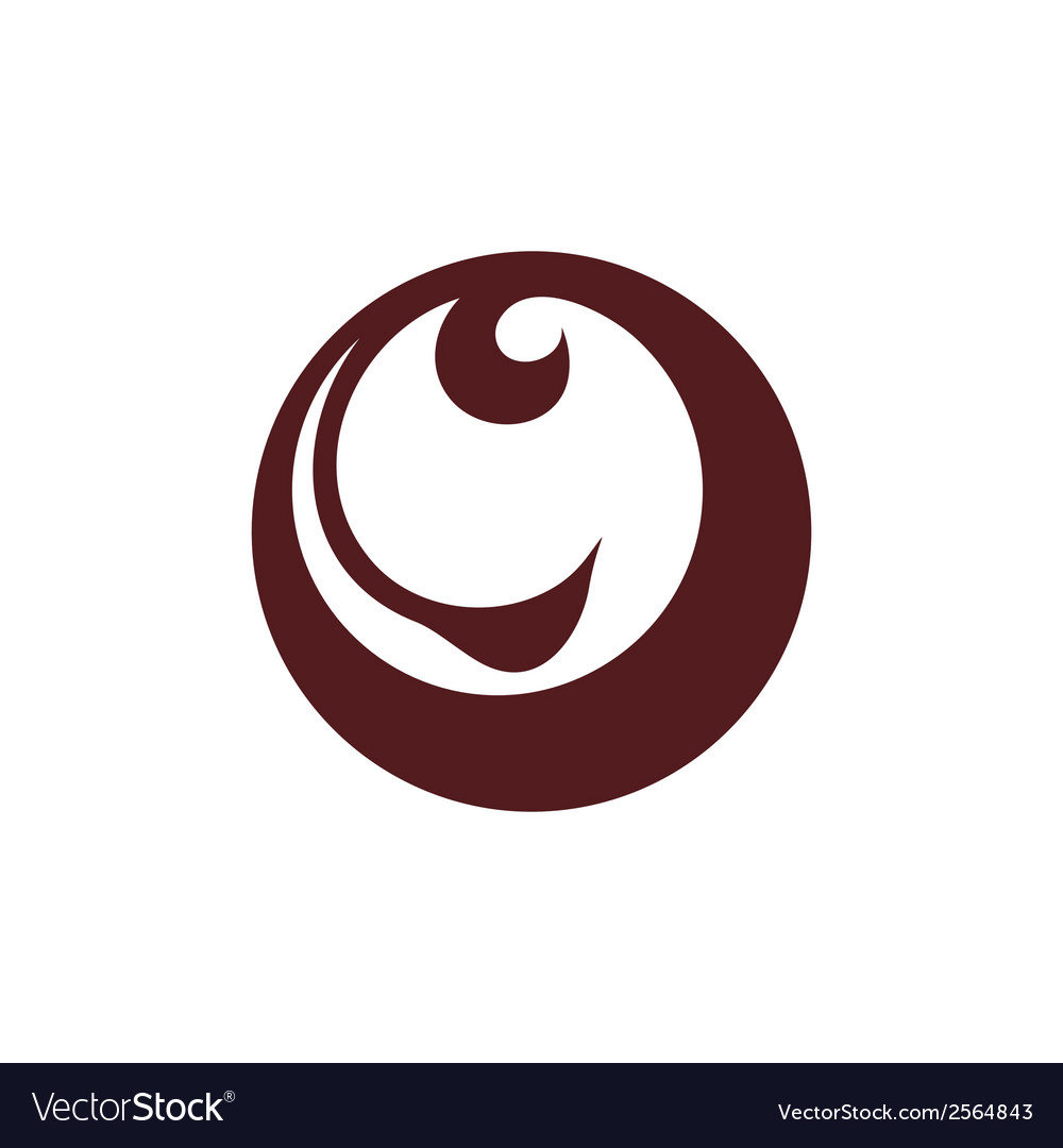 Abstract animal face sign vector image