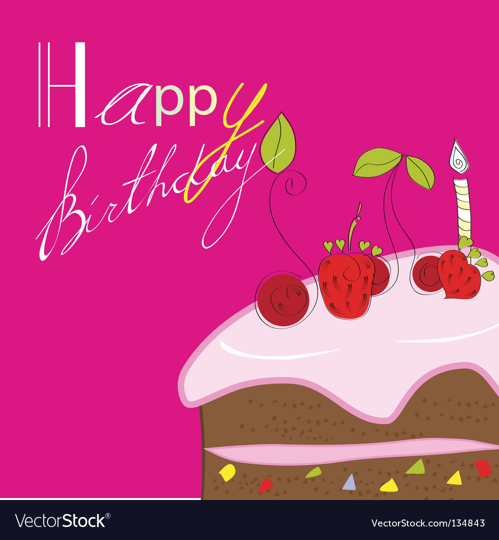 Birthday card vector 134843 by Ateli | Royalty Free Vec