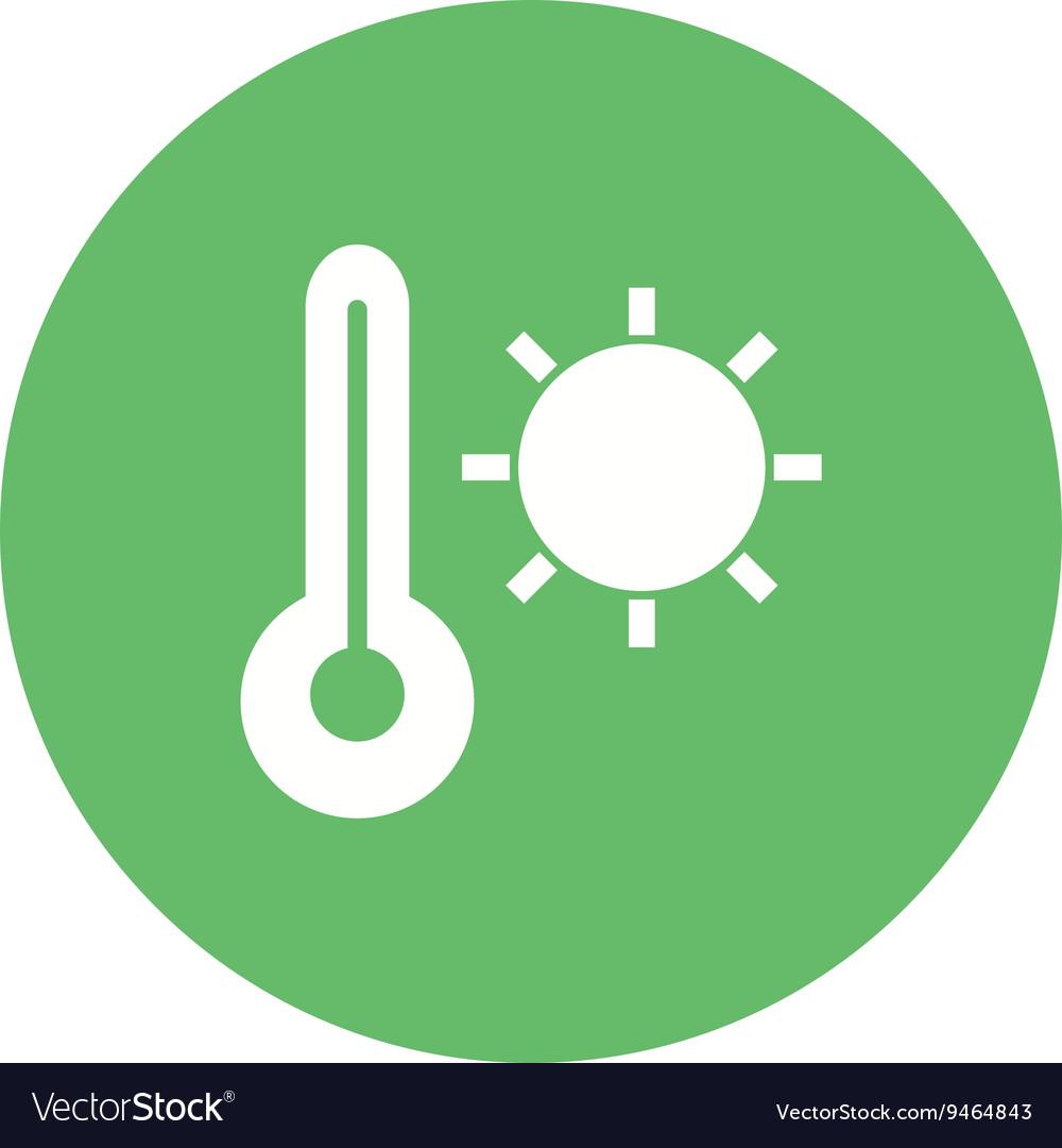 Hot Weather Royalty Free Vector Image Vectorstock