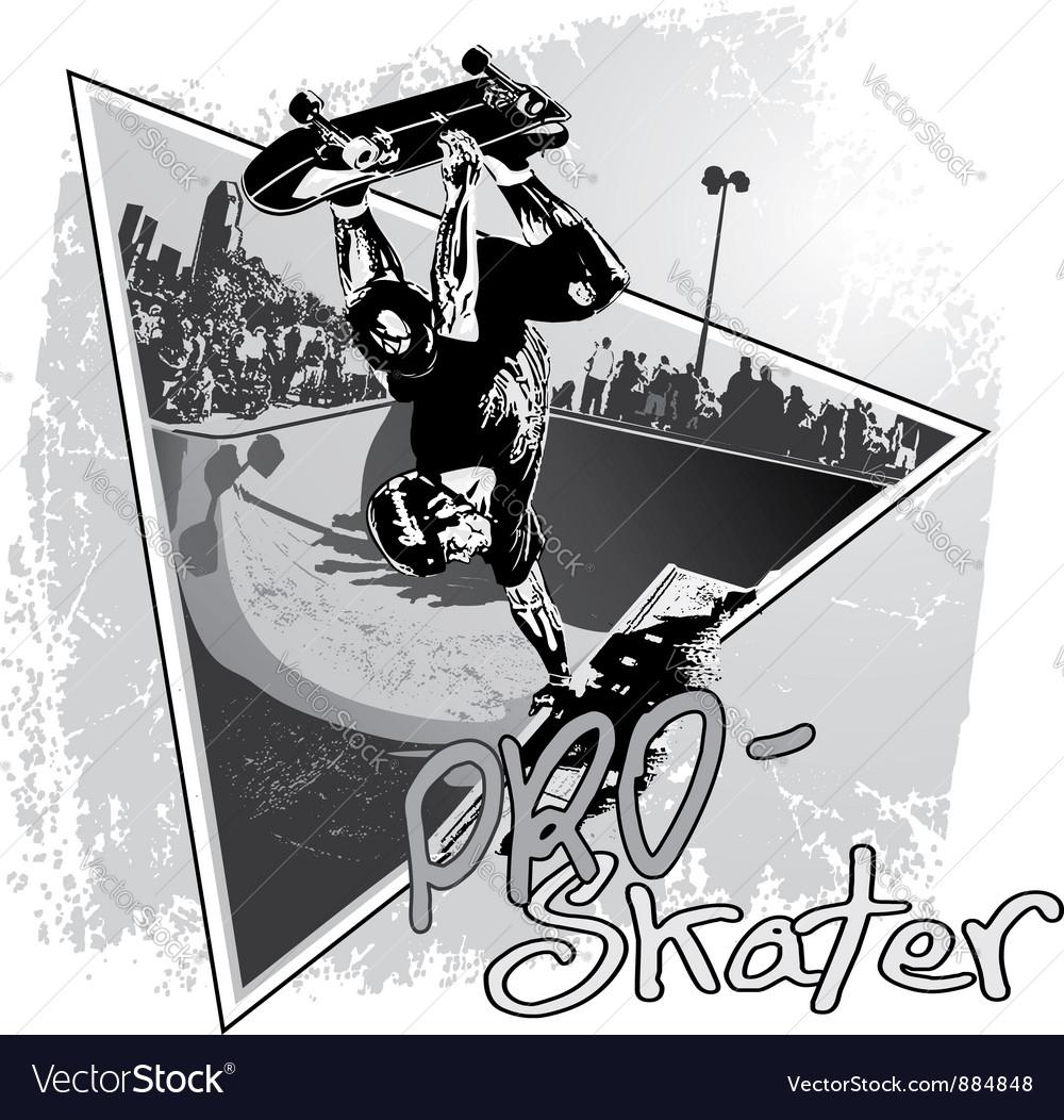 PRo Skater vector image