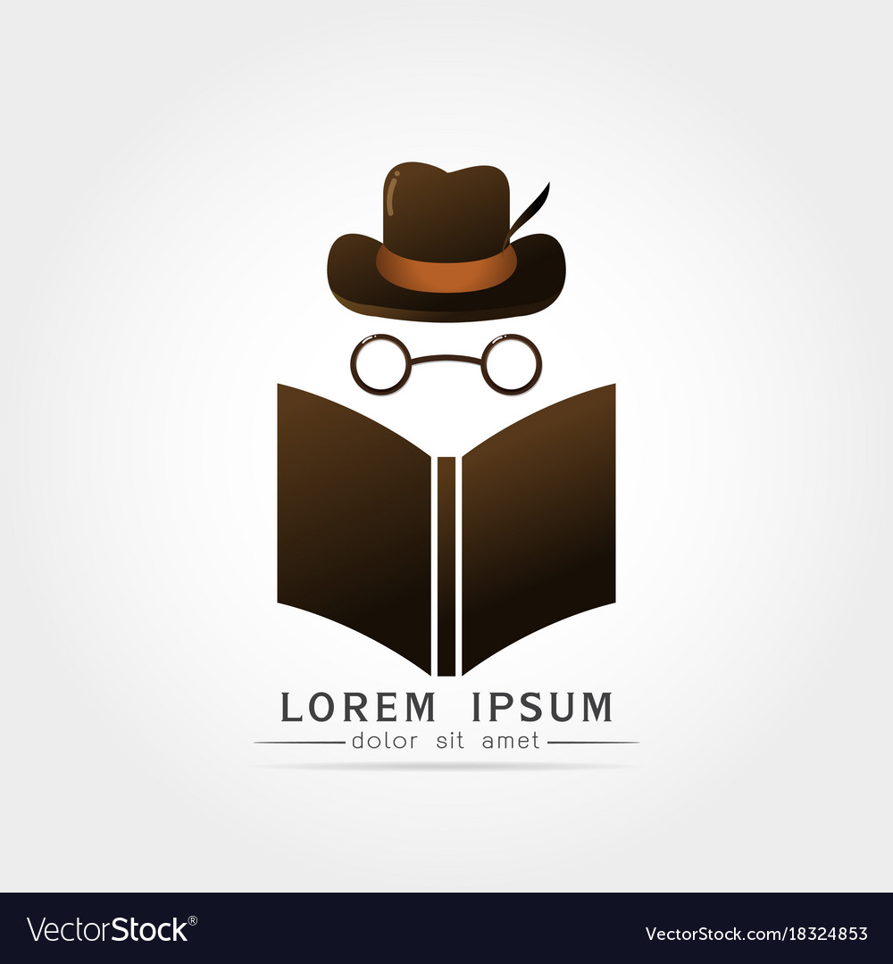 agent reading newspaper icon royalty free vector image