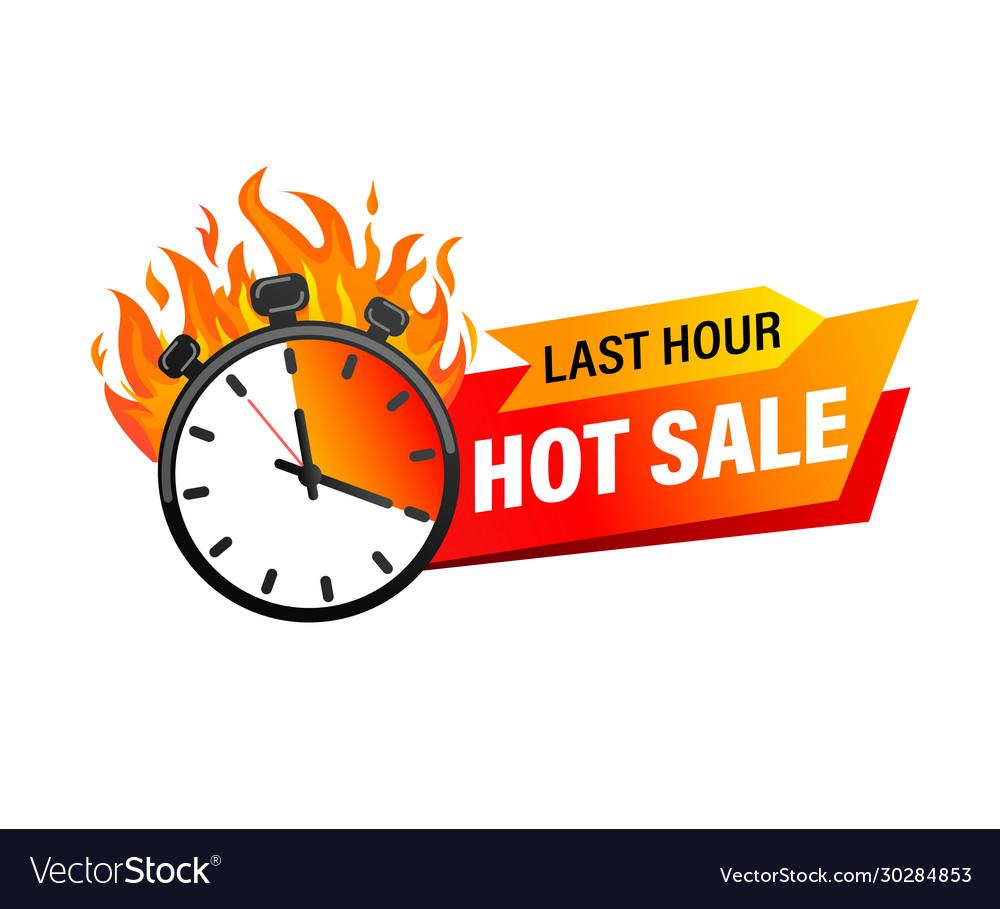 Last hour offer banner