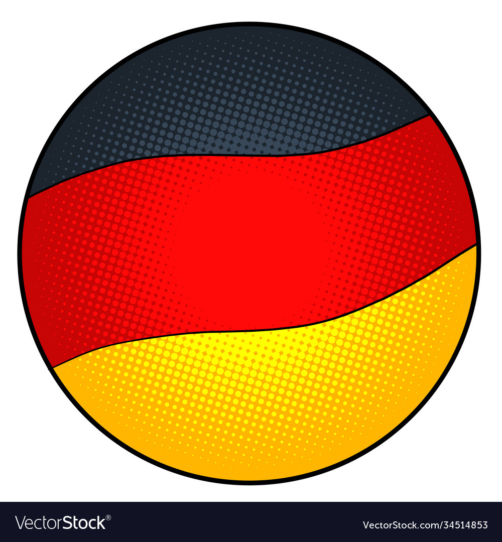 State flag germany vector
