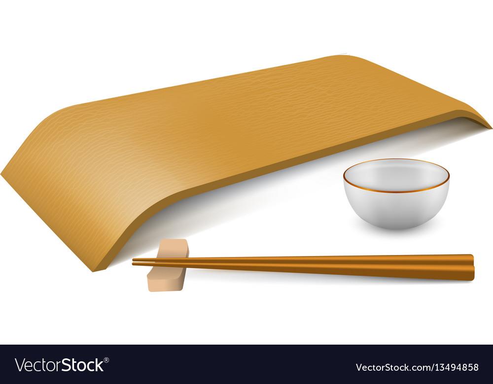 Japanese empty dish