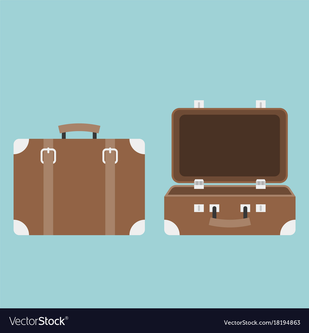 Open and close luggage