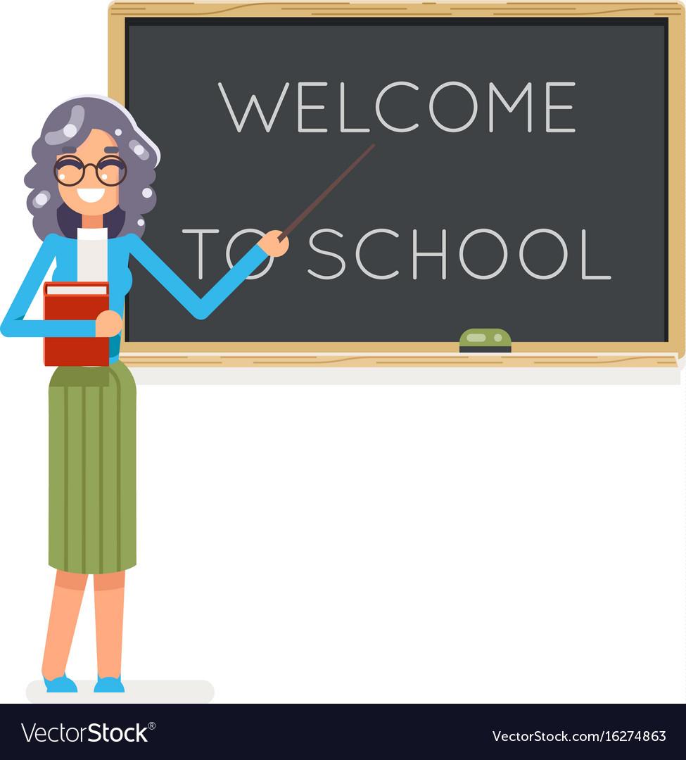 Teacher book female study pupil student class