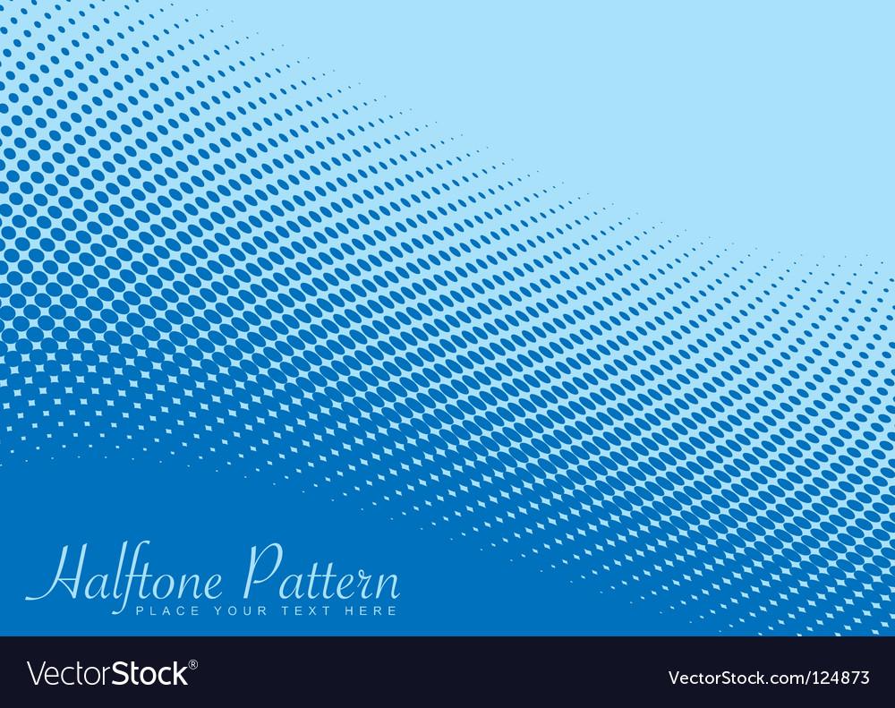Wave halftone pattern
