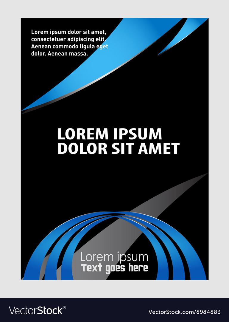 Brochure folder leaflet