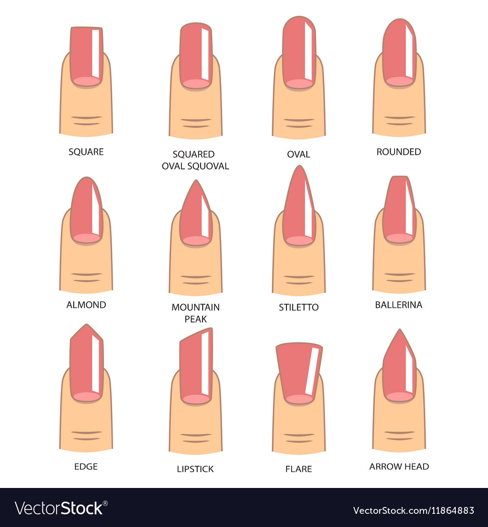 Different Type Of Design Nails
