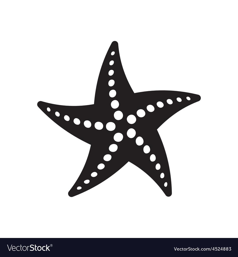 starfish royalty free vector image vectorstock rh vectorstock com starfish vector image starfish vector file