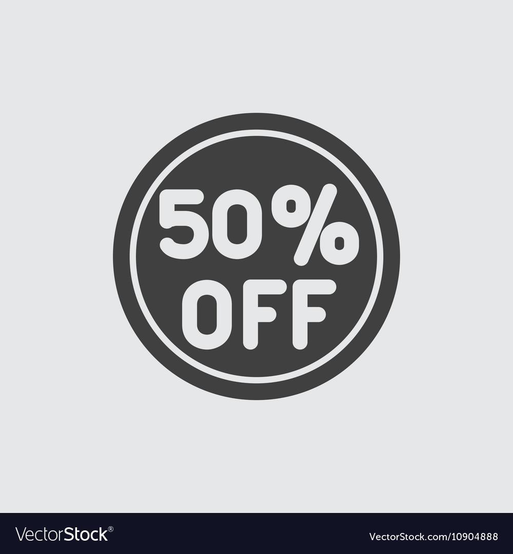 50 sale icon