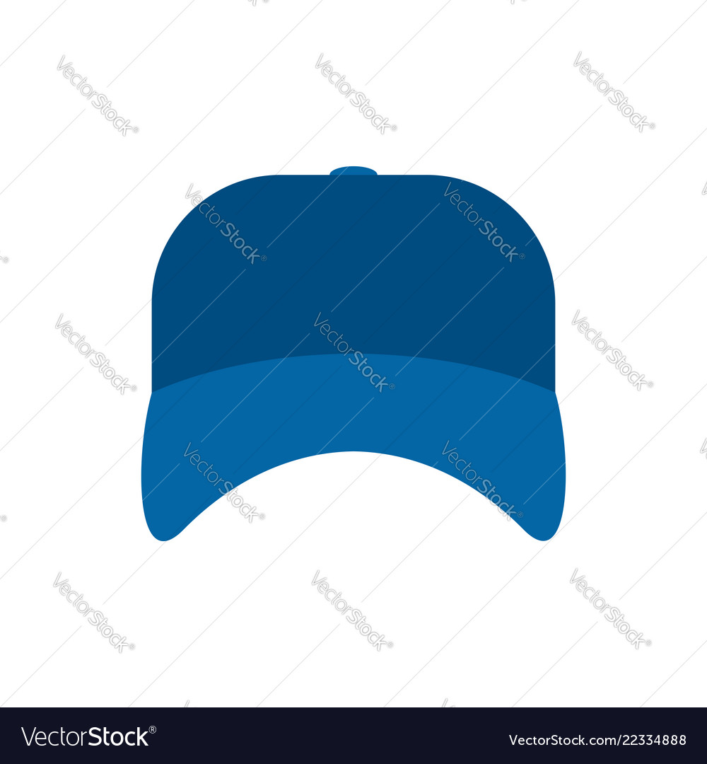 Blue plumber cap isolated serviceman hat
