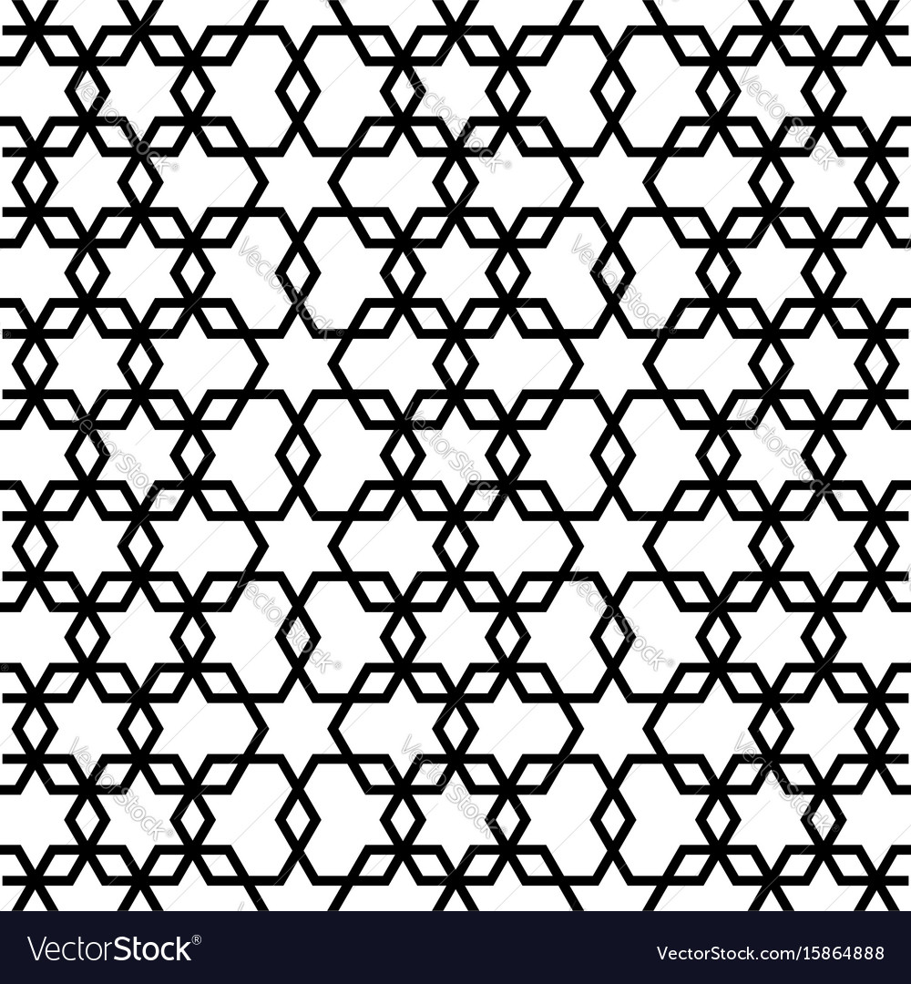 Geometric pattern seamless