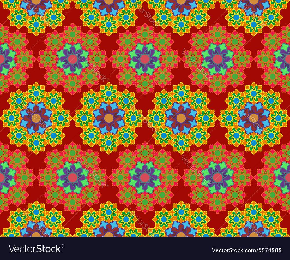 Islam Arabic Asian motifs background Oriental vector image