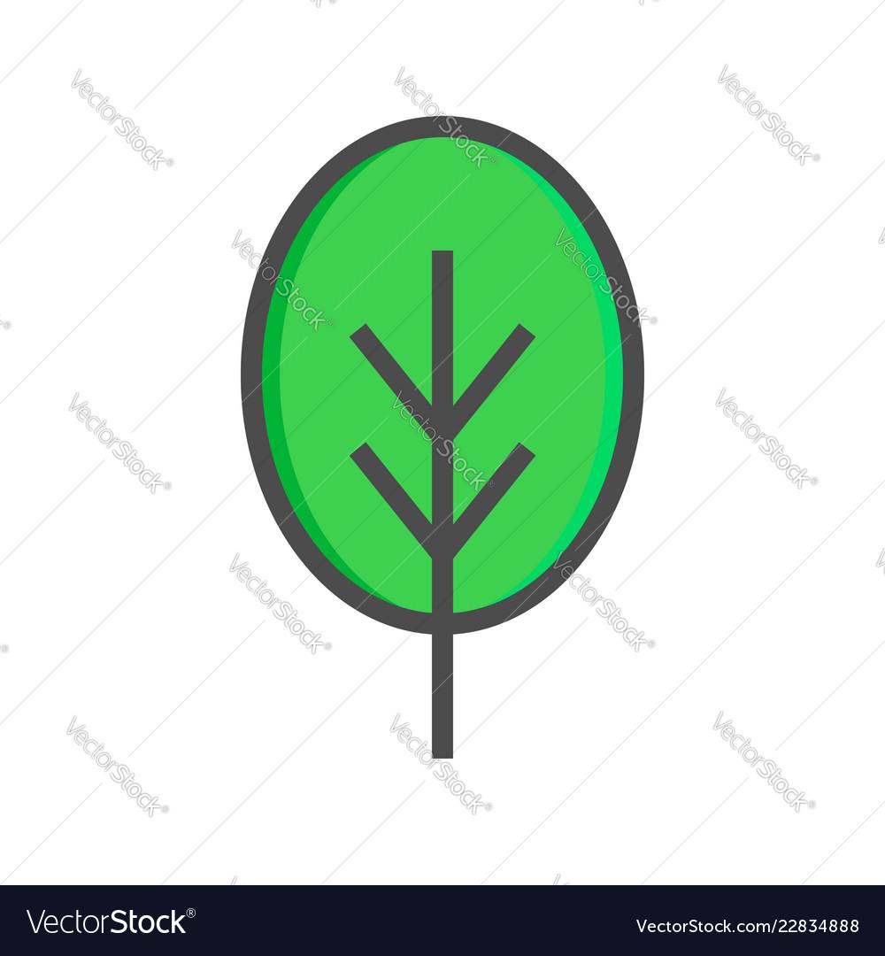 Tree icon tree icon isolated