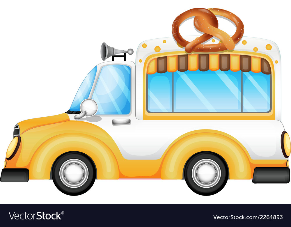 A Vehicle Ing Bread Vector Image