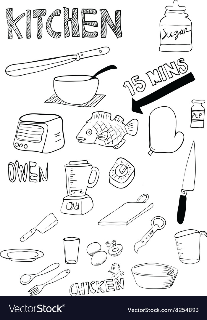 Kitchen Thing Royalty Free Vector Image Vectorstock
