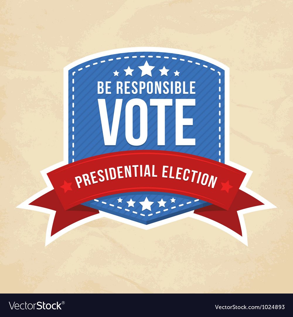 Presidential election label