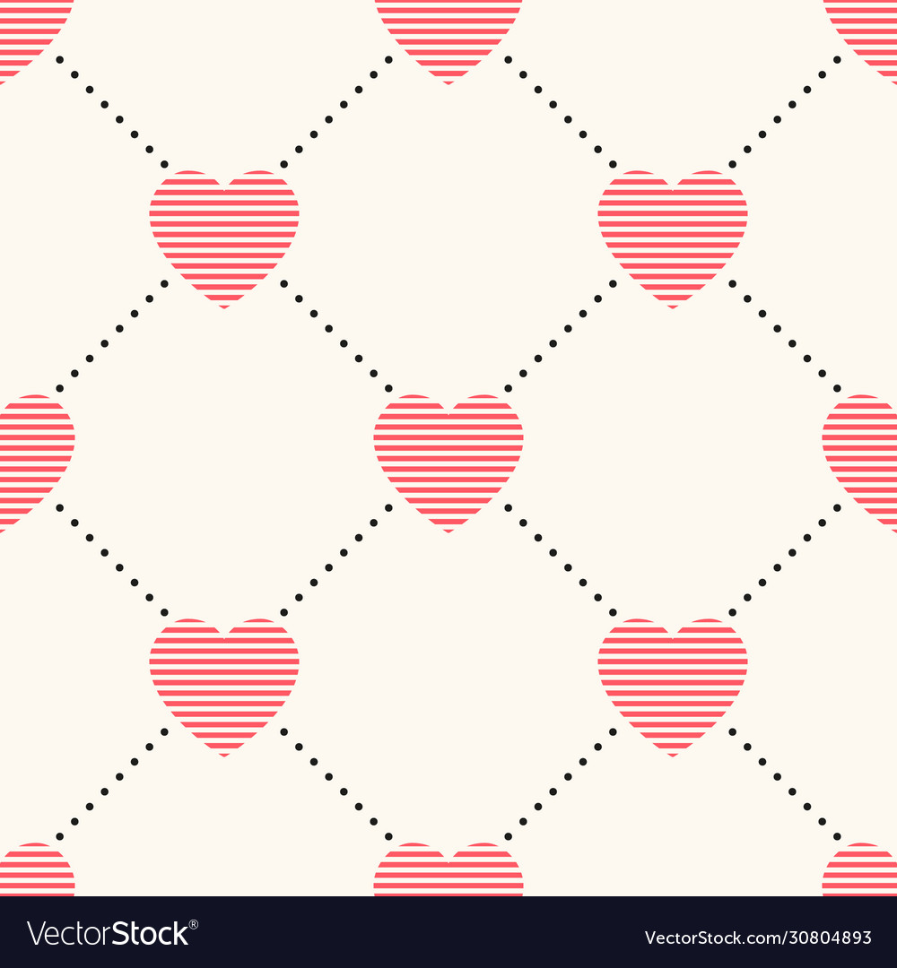 Seamless geometric pattern with striped