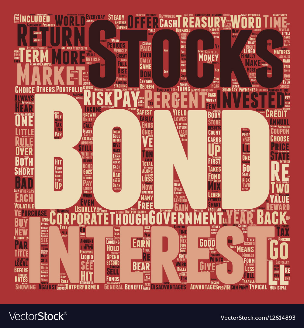 The Bond Market And How You Can Benefit text