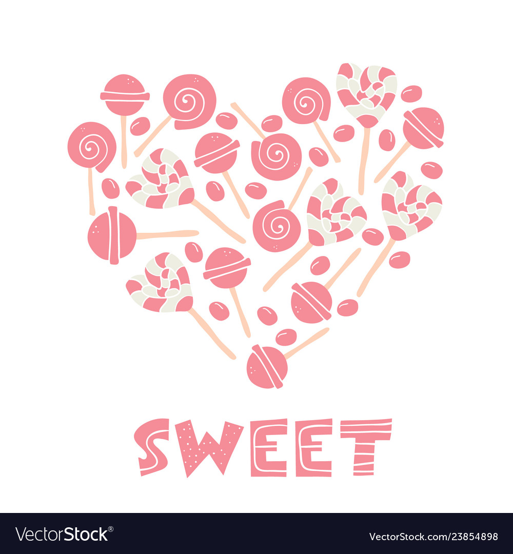 Candy lover lollipop desserts sweets