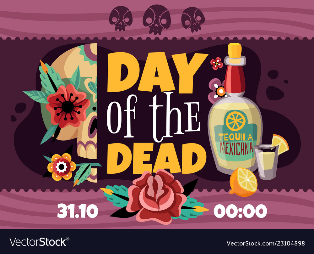 Dead day announcement poster