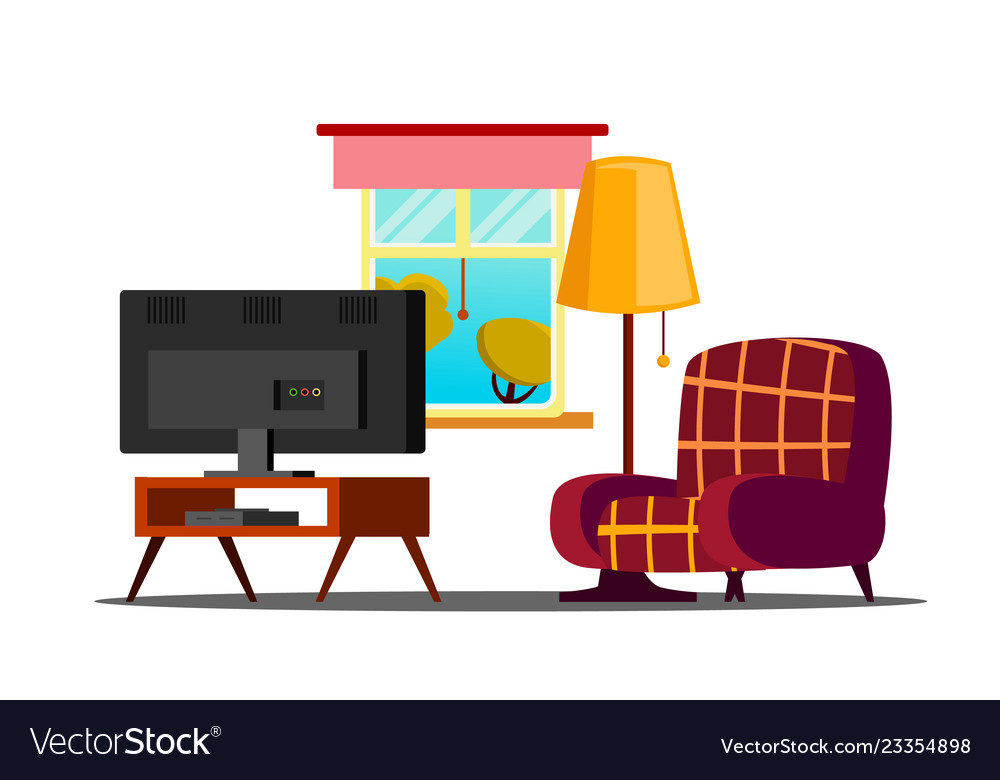 Home interior living room classic