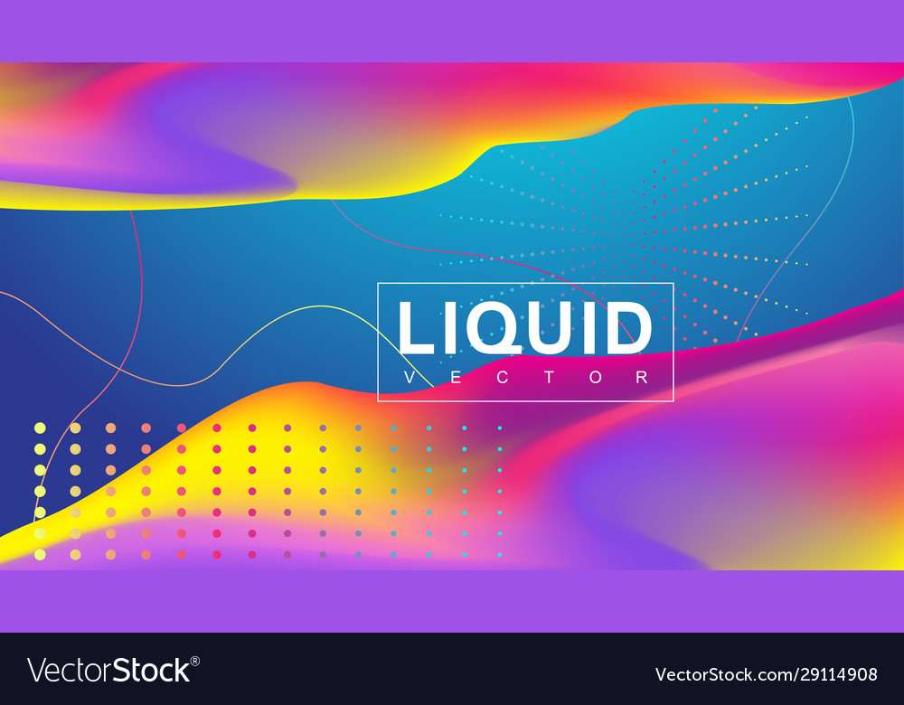 3d geometric abstract background with iridescent