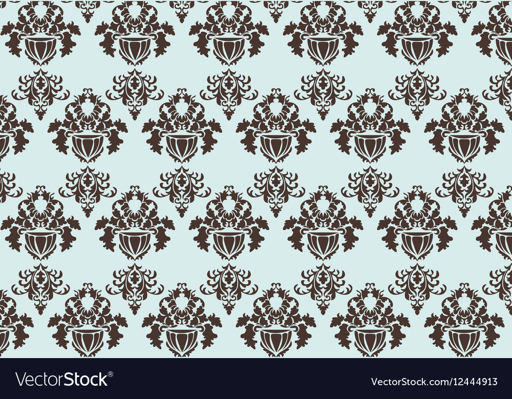 Baroque Pattern ornament vector image