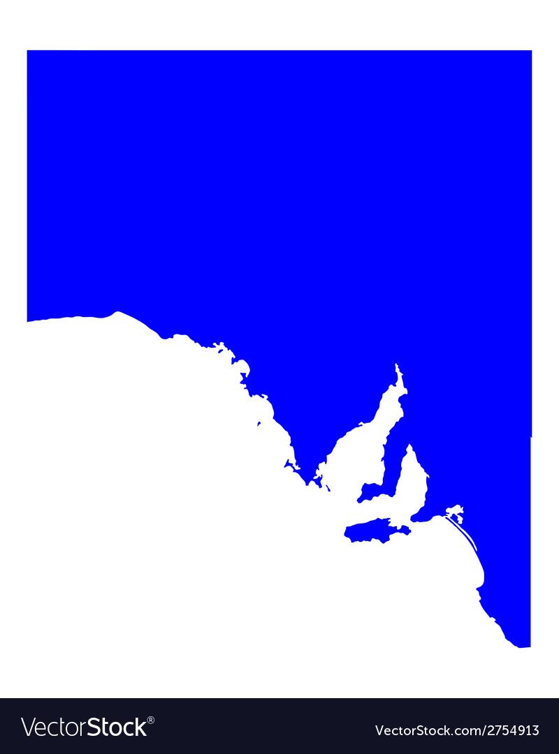 Map South Australia.Map Of South Australia