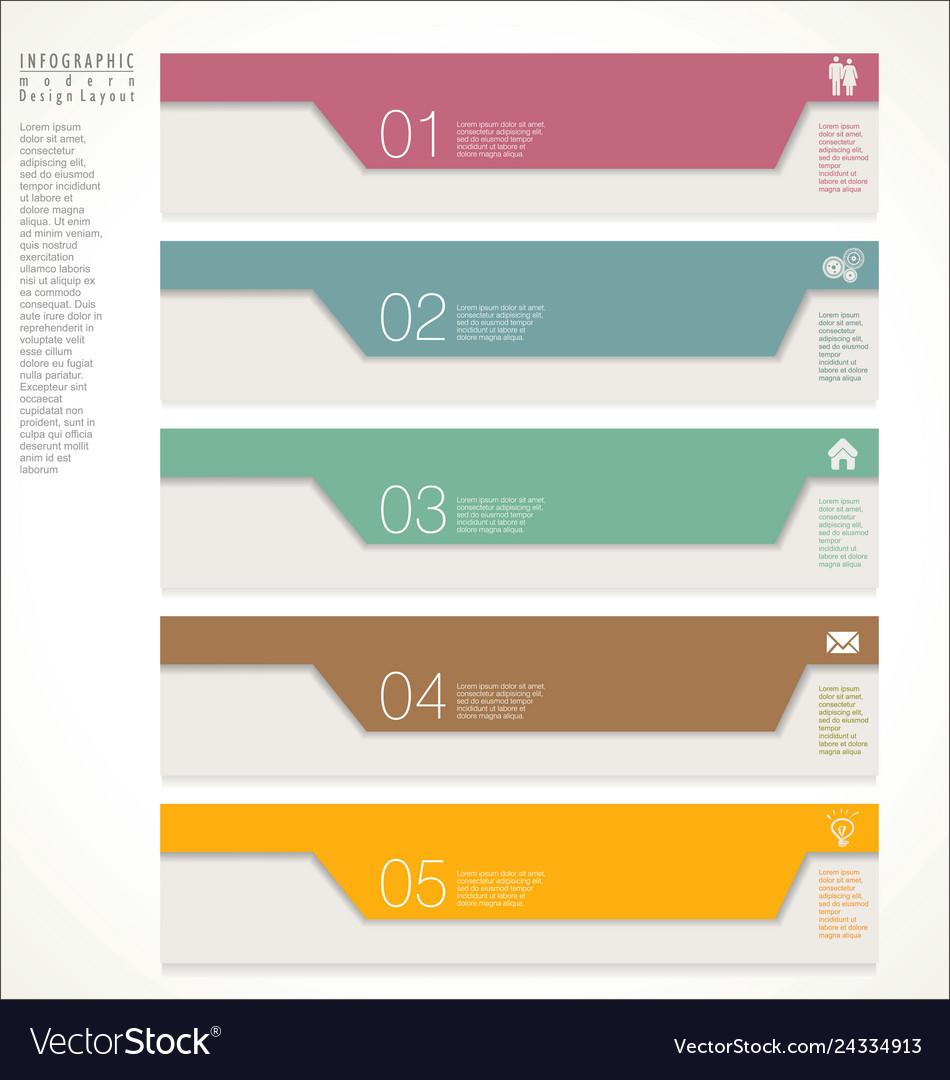 Modern design template 6