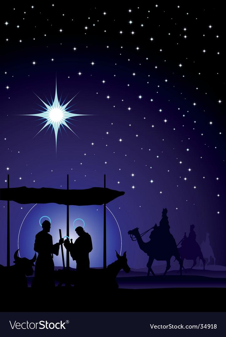 Nativity vector image