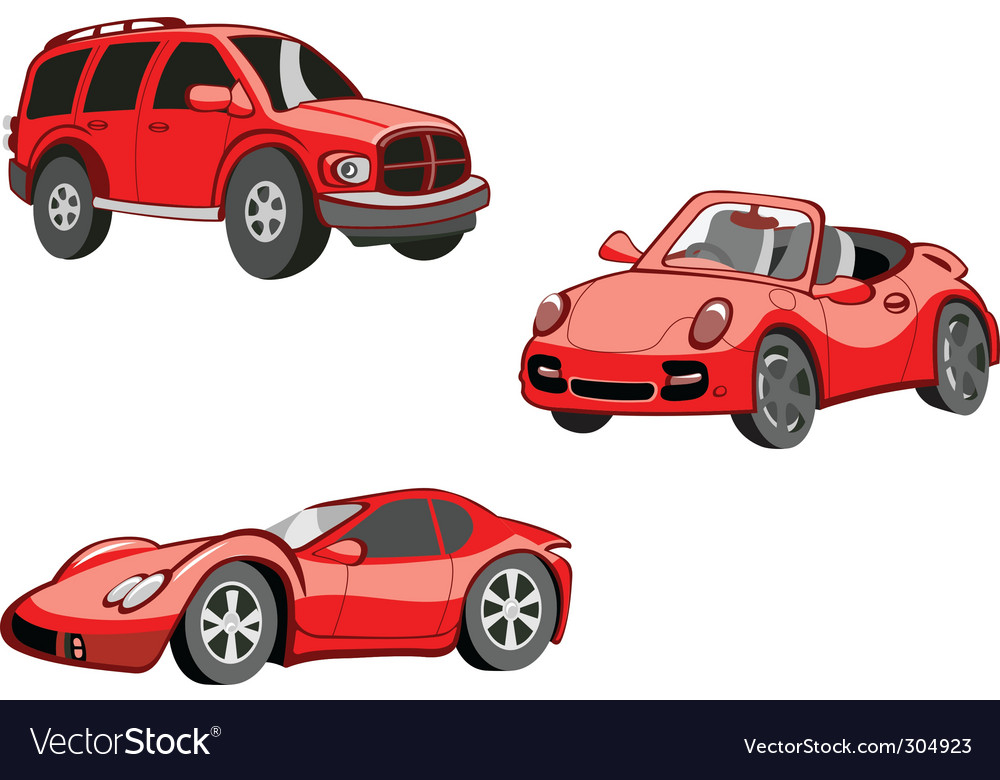 cartoon cars picture Cartoon cars Royalty Free Vector Image - VectorStock
