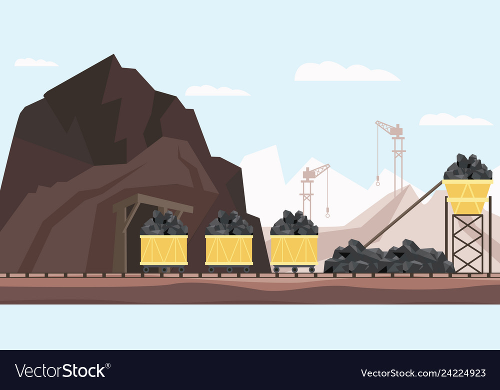 Coal mine industry and transportation