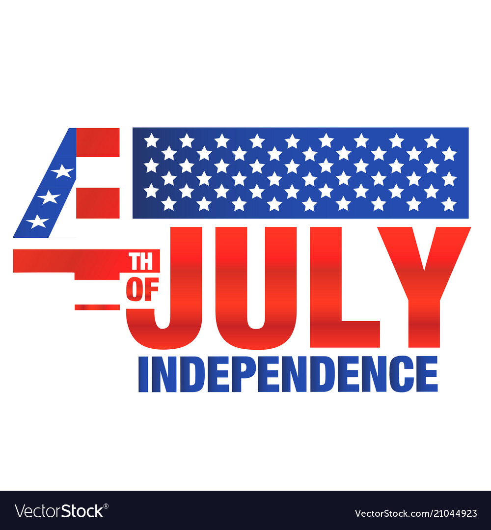 Fourth of july independence united stated flag bac