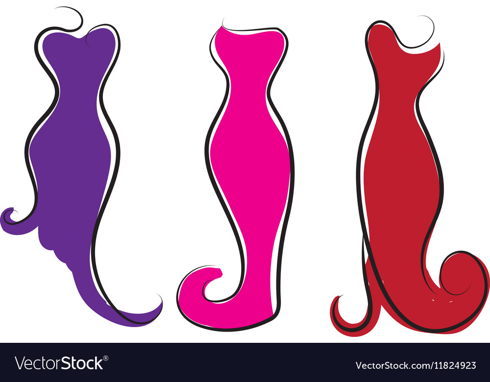 7e415078caa Logo plus size women Curvy woman symbol Royalty Free Vector