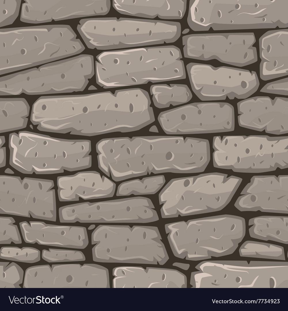 Seamless cartoon stone texture