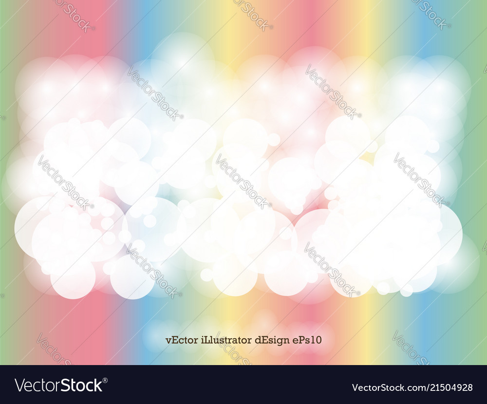 Abstract background circle light bokeh for