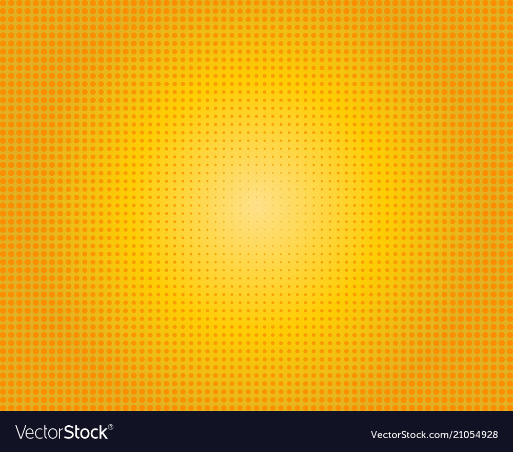 Yellow orange dotted background