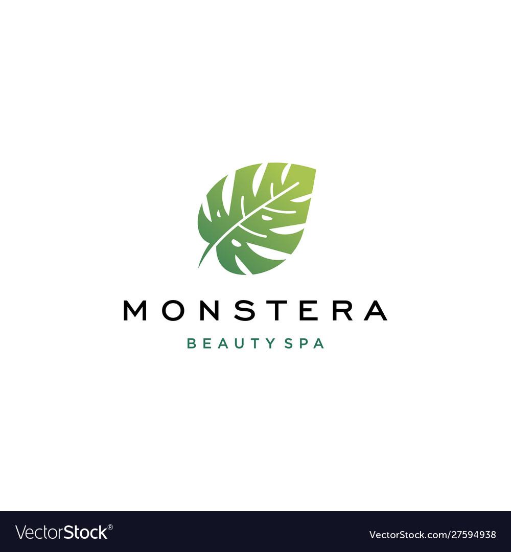 Tropical Plant Leaves Logo Monstera Leaves Logo Vector Image Download 4,225 tropical leaves free vectors. vectorstock