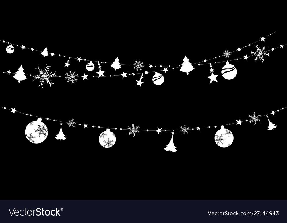 Christmas sticker decoration