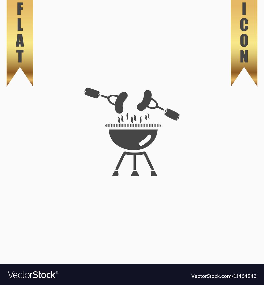 Grill Or Barbecue Icon