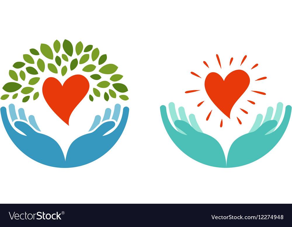 Love ecology environment icon Health medicine
