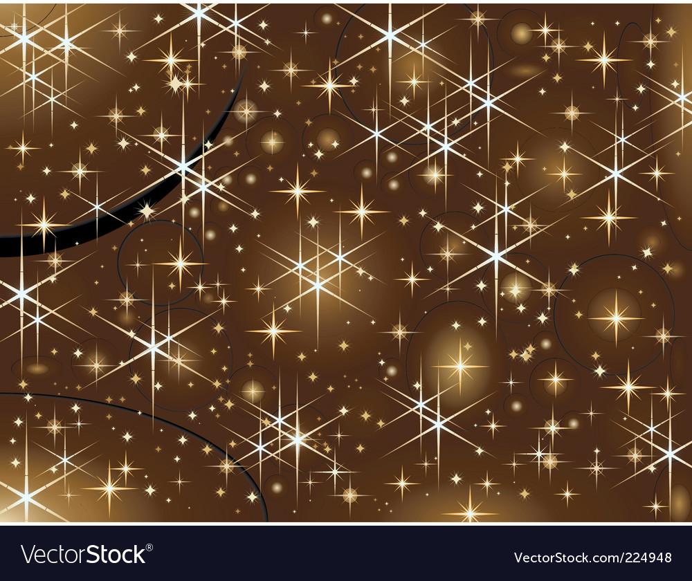 Shiny christmas stars