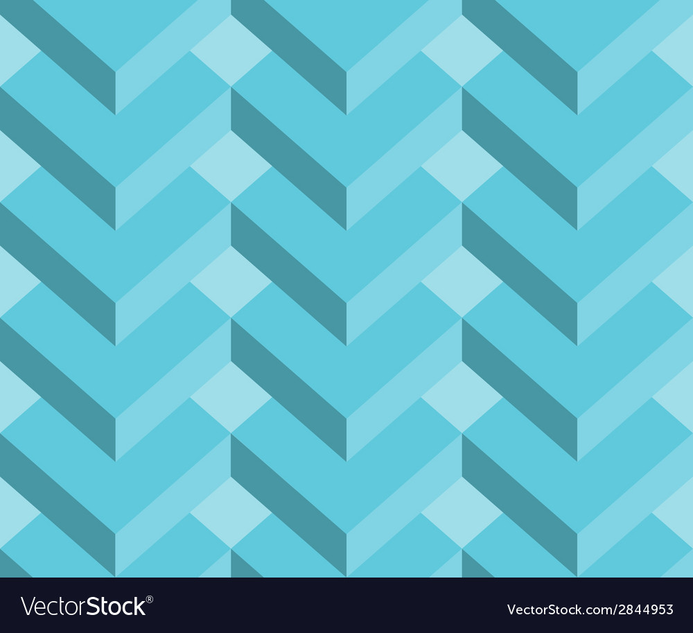Abstract 3d geometric seamless pattern background