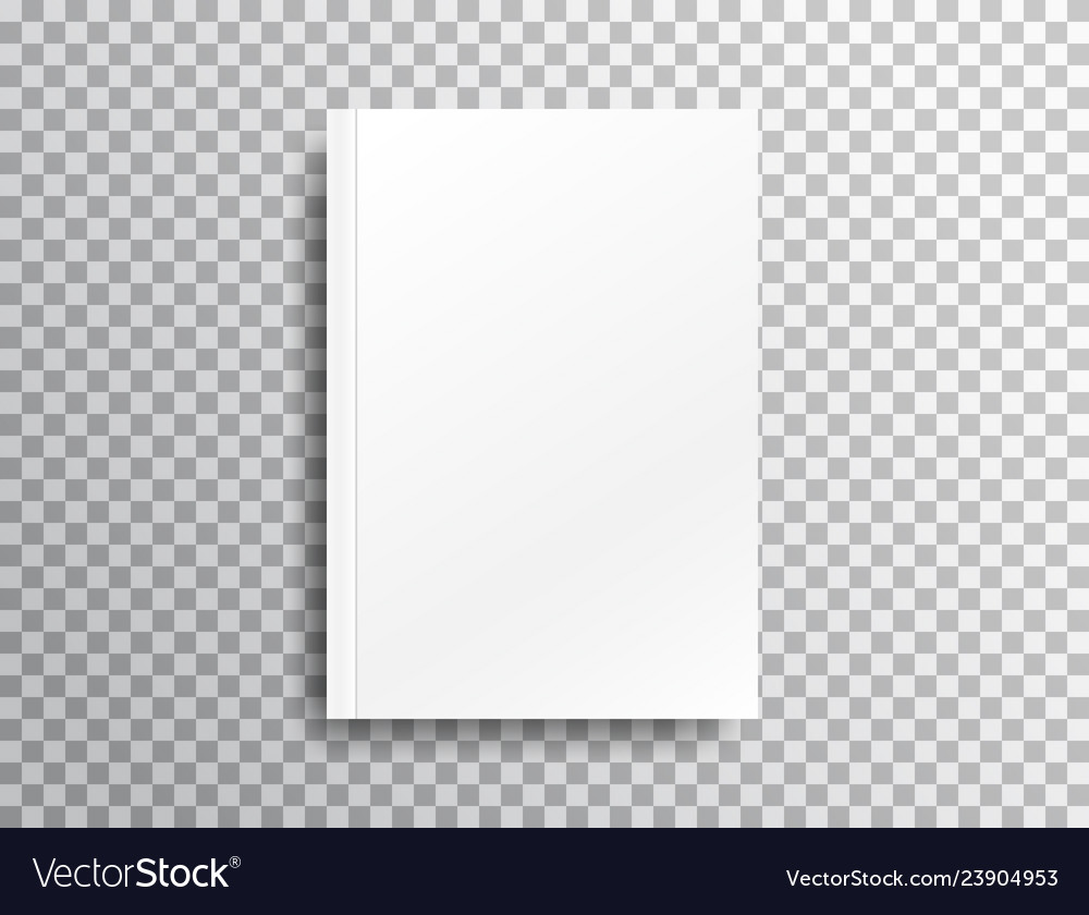 Blank Mockup With Shadow On Transparent Background