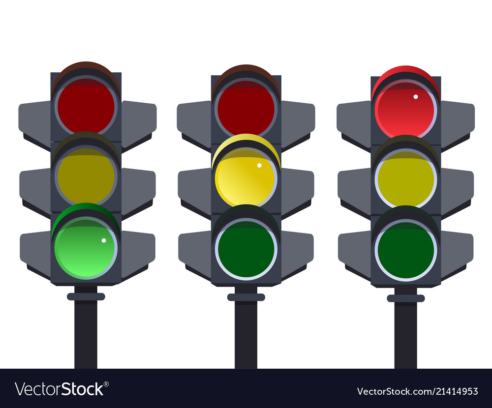 Traffic light traffic light sequence red yellow