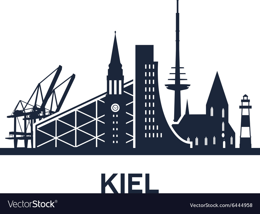 Kiel city skyline