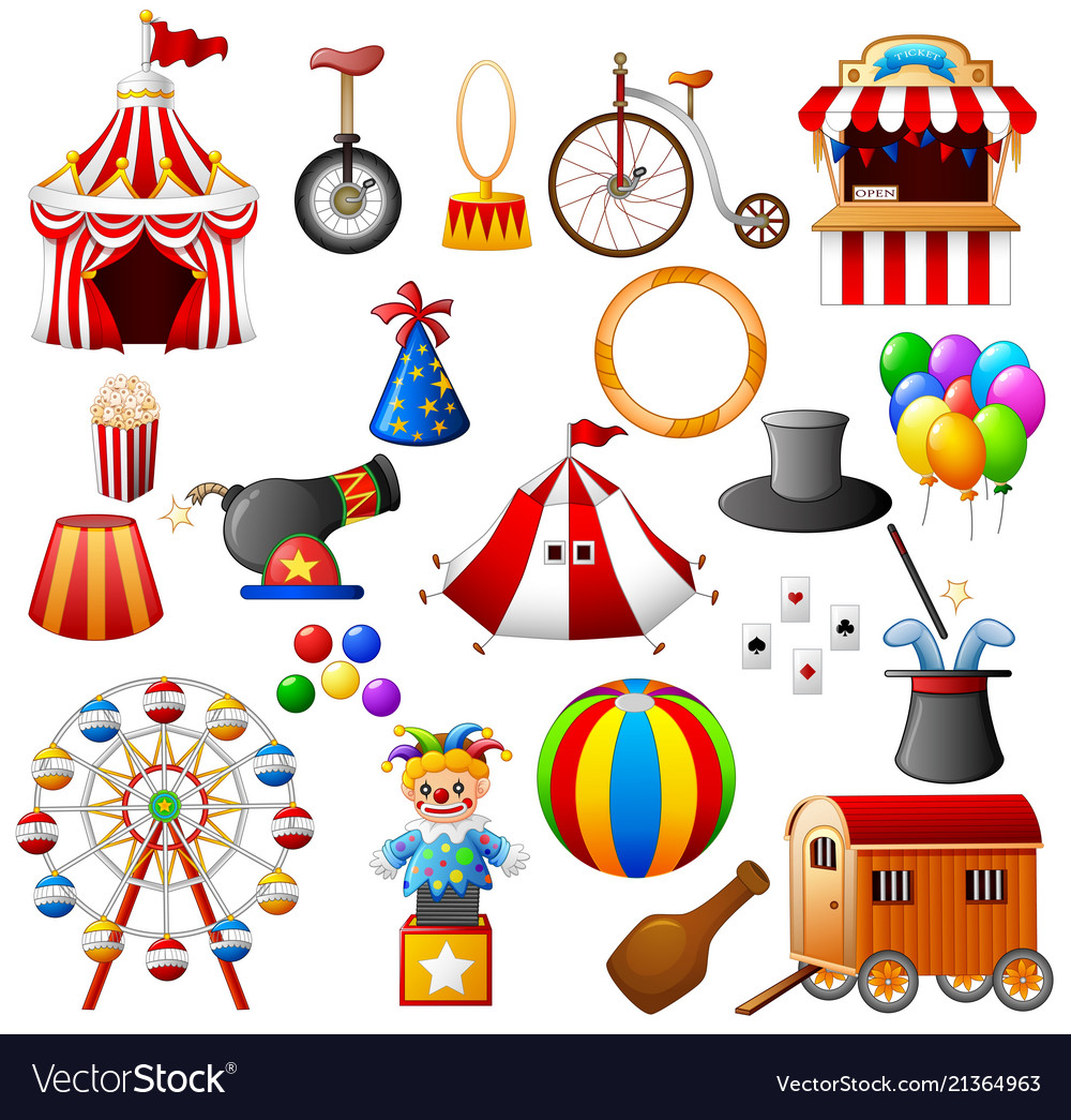 Circus equipment collection set